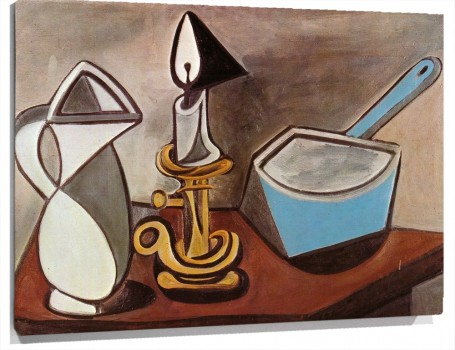 Pitcher,_Candle_and_Casserole_[1945].JPG